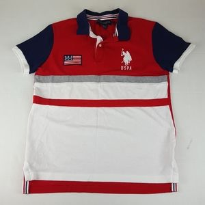 US Polo Assn Mens Casual Polo Shirt   Size Medium